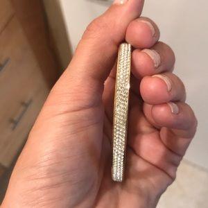 Henri Bendel Gold Bling Bracelet Bangle